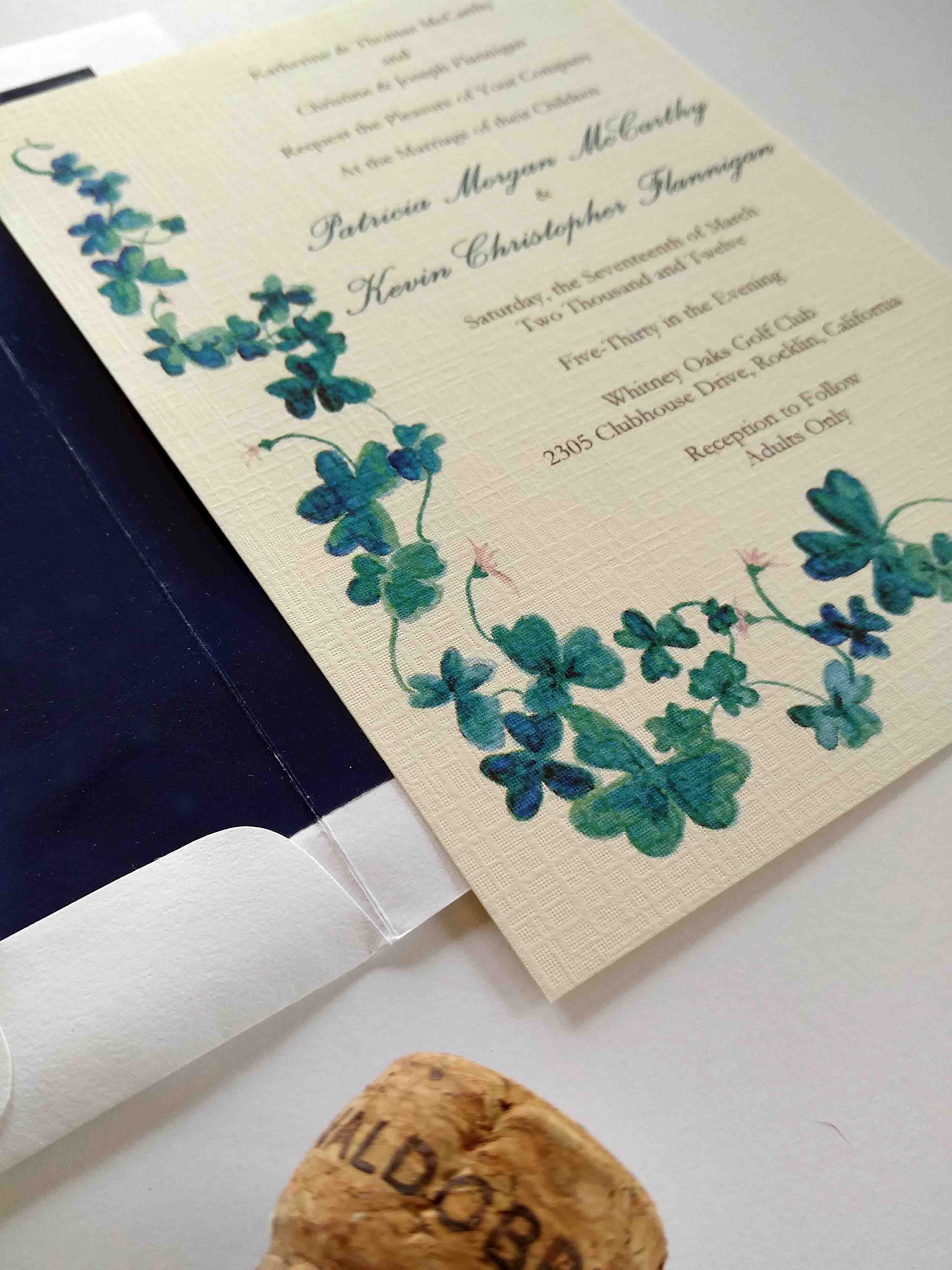 St. Patrick\'s Day Wedding