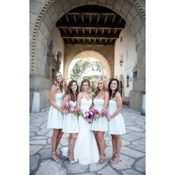 Summer Santa Barbara Wedding