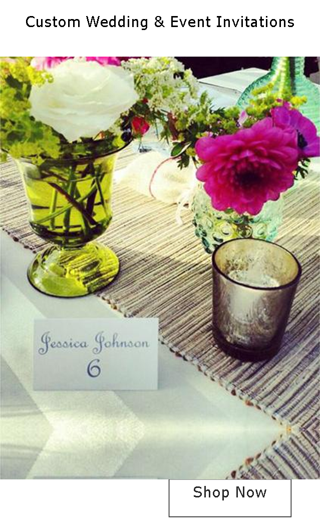 Custom Wedding & Event Invitations